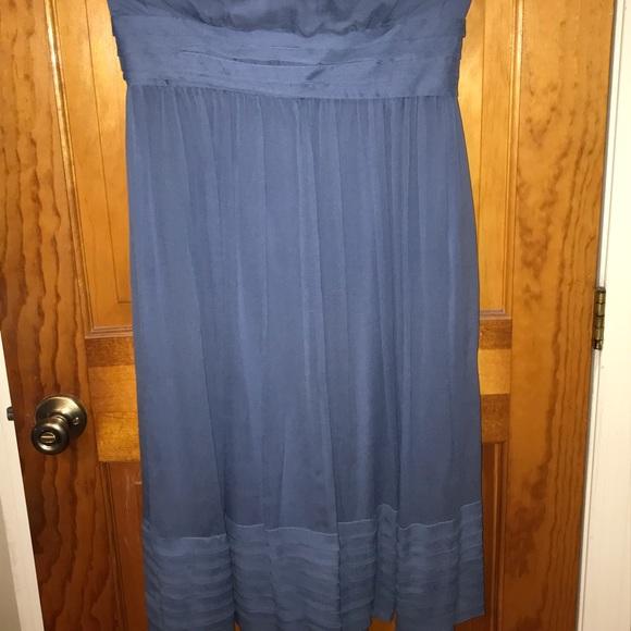 J. Crew Dresses & Skirts - J.crew strapless chiffon dress